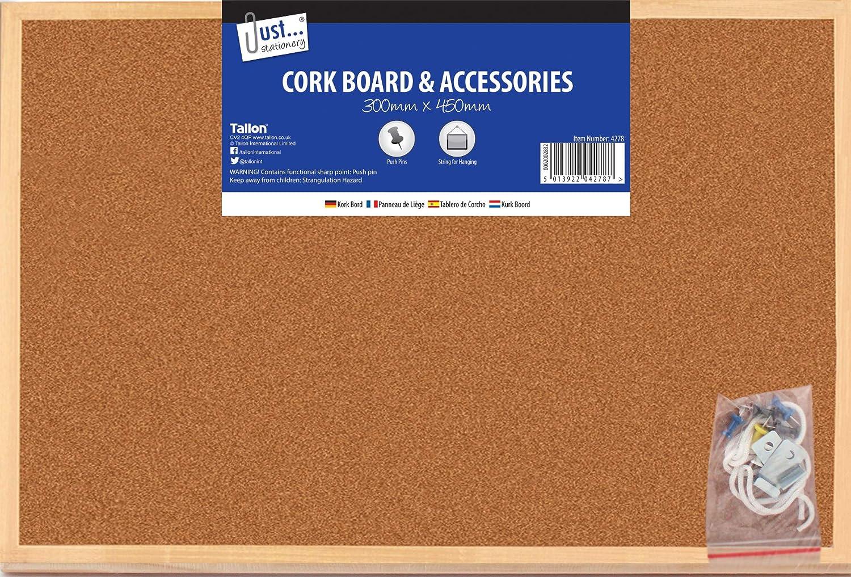 Tallon Just Stationery 300x450mm Cork Board