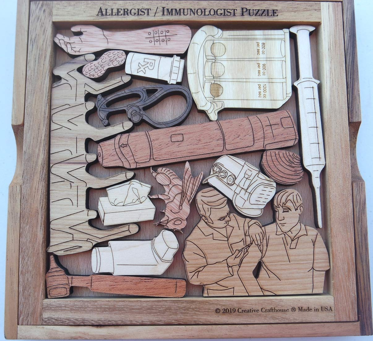 The Allergist and Immunologist Puzzle