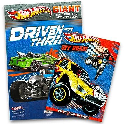 Amazon.com: Hot Wheels Coloring Book Set (2 Books): Toys & Games