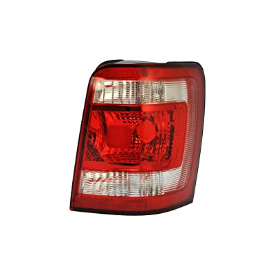 Passenger Side Tail Light Lamp for 2008-2012 Ford Escape FO2801210 8L8Z13404A: Automotive