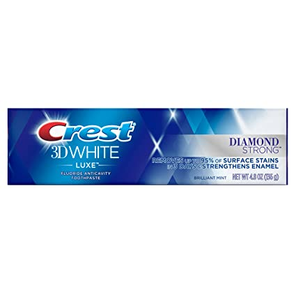 Crest 3d White Luxe Diamond Strong Whitening Toothpaste Brilliant