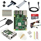 V-Kits Raspberry Pi 3 Model B+ (Plus) Ultimate Starter Kit (EU Edition) ---Enthalt: Raspberry Pi 3 Model B+ (Plus) mit 12 Wesentlich Zubehö
