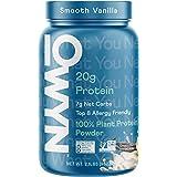 OWYN - 100% Vegan Plant-Based Protein Powder | Vanilla 2.1 lb Tub | Dairy-Free, Gluten-Free, Soy-Free, Allergy-Free…