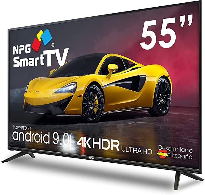 "NPG 530L55U 4K 2021 – 55"" 4K UHD Smart TV Android 9.0 ..."