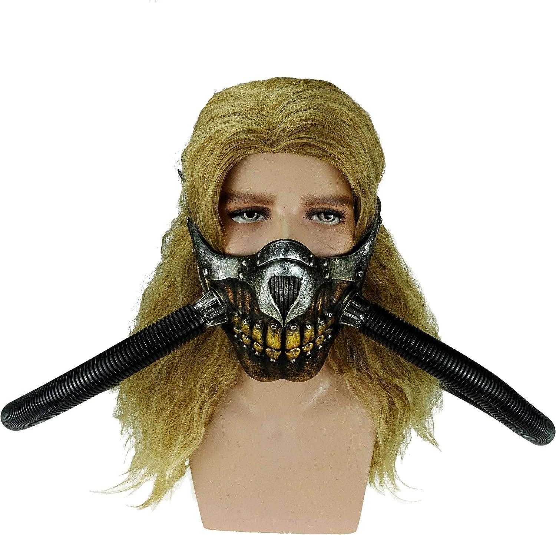 Mad Max Immortan Joe Mask with Tube Half Face Mask