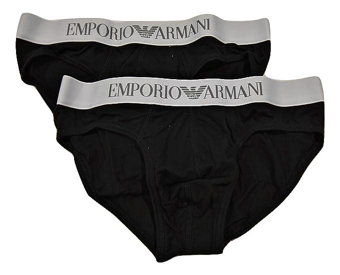 EMPORIO ARMANI UNDERWEAR - Slips - para hombre negro Small