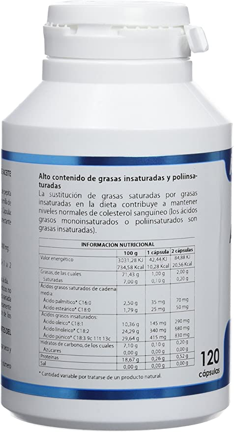EQUISALUD Aceite Uva Y Granada - 100 gr: Amazon.es ...