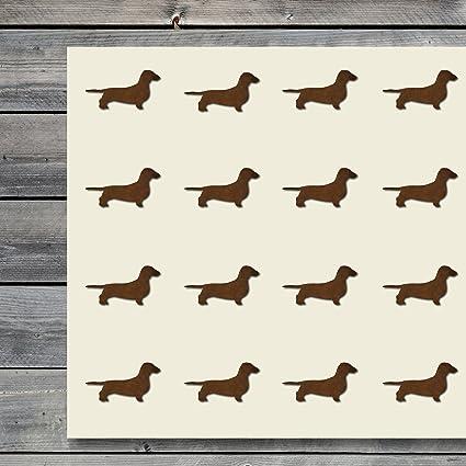 Dachshund Wiener Dog Planner Calendar Scrapbooking Crafting Stickers
