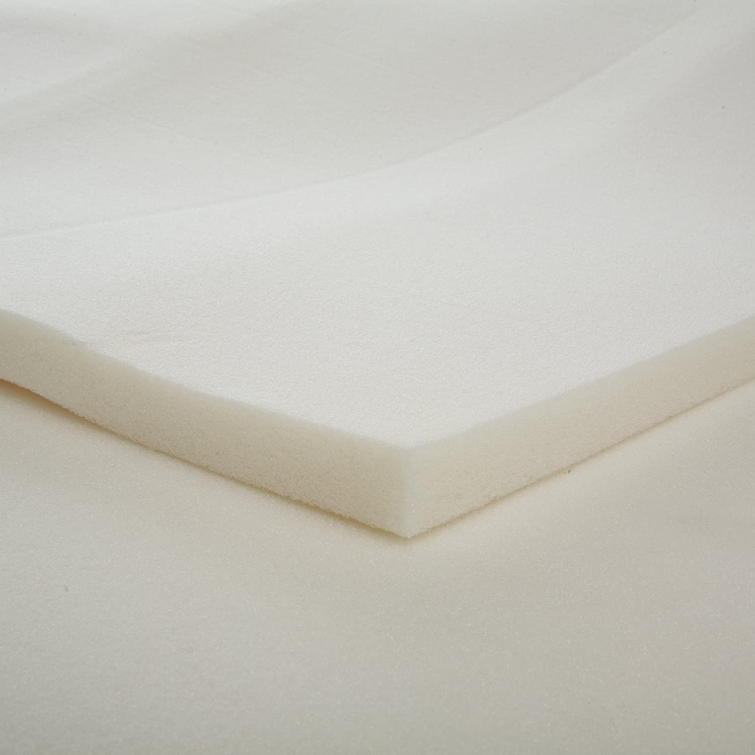 Amazon.com: 1-Inch Slab Memory Foam Mattress Topper, Full: Home & Kitchen