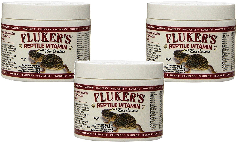 Fluker's 4-Ounce Repta Vitamin (3 Pack)