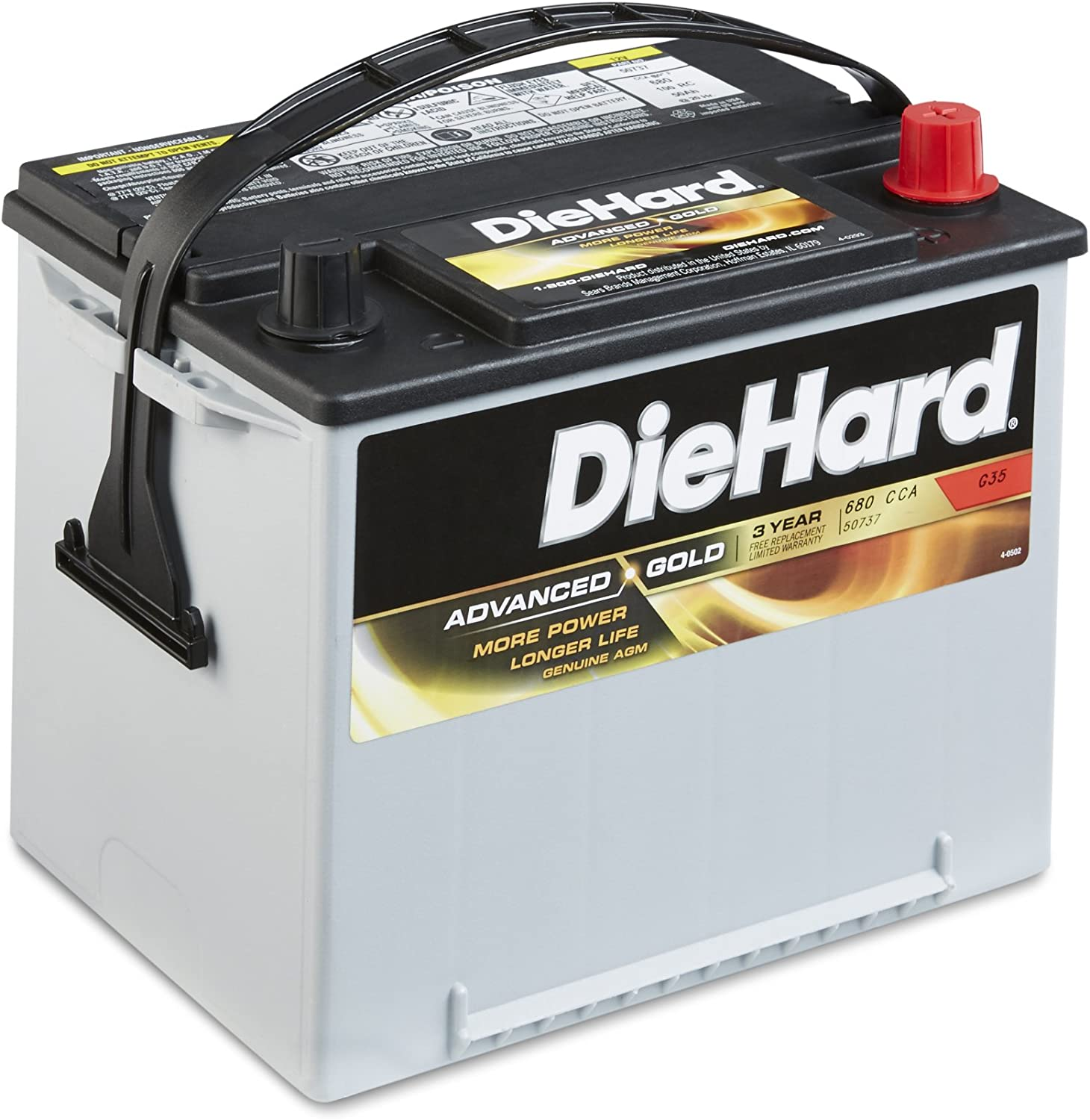 DieHard 38275 Group Advanced Gold AGM Battery GP35
