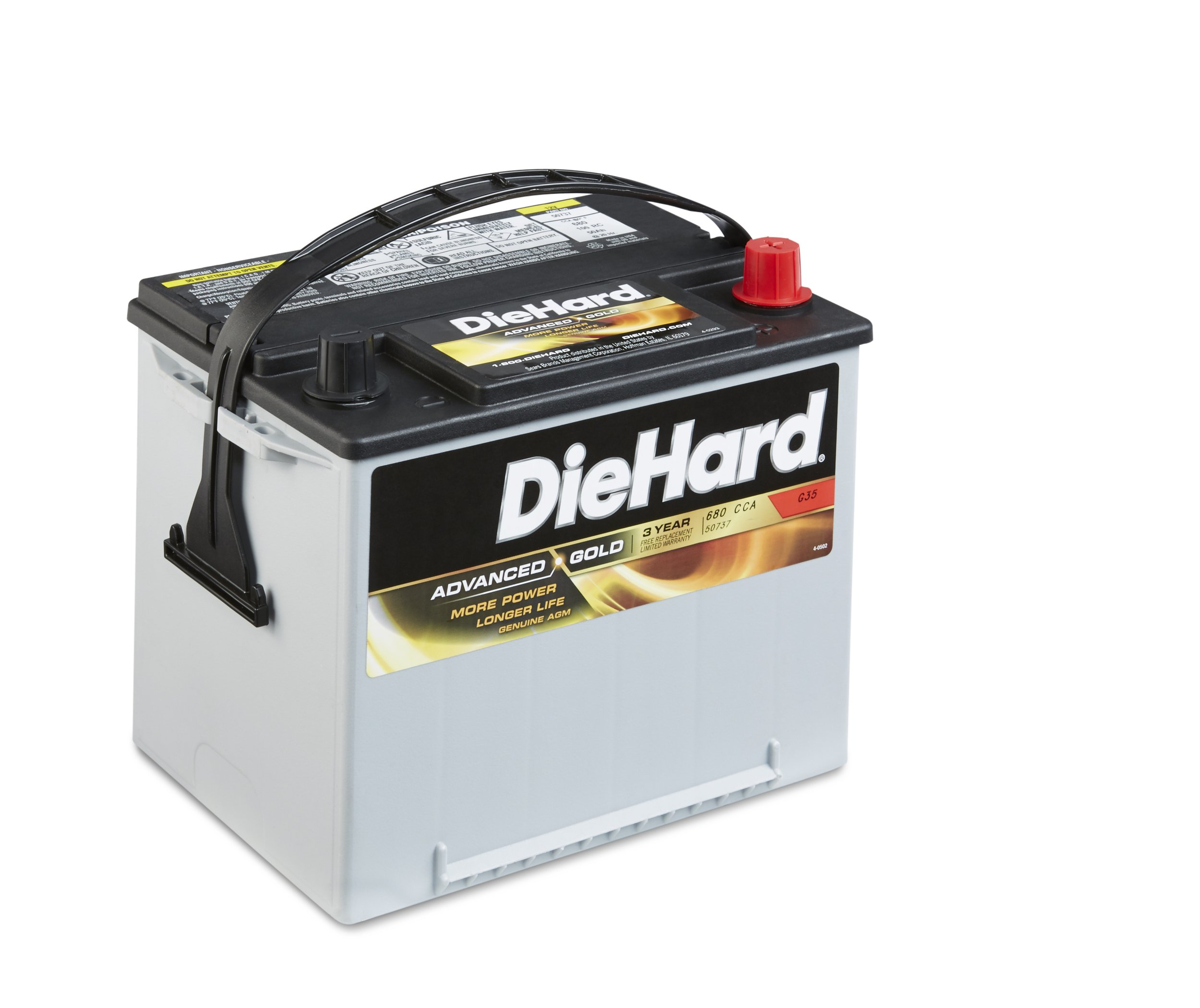 DieHard 38275 Advanced Gold AGM Battery (GP 35)