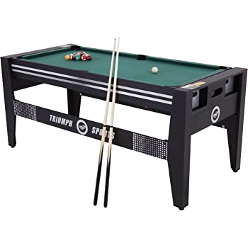 Amazoncom Sportcraft Inch Games In Swivel Table - Sportcraft 1926 pool table
