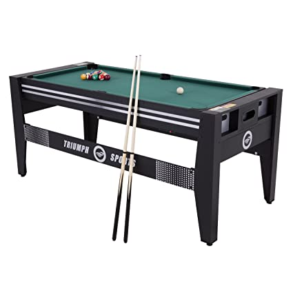 Triumph 72u201d 4 In 1 Multi Game Swivel Table