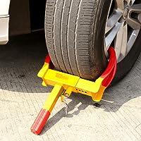 COSTWAY Radkralle Parkkralle Wegfahrsperre Diebstahlsicherung Reifenkralle Pkw Anhänger