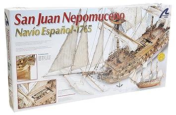 Artesanía Latina 22860 - Maqueta de barco en madera: San ...