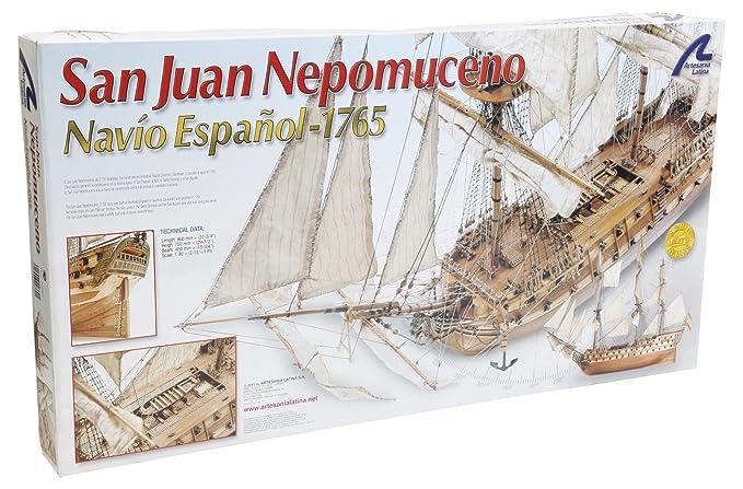 Amazon.com: Artesania Latina, S.A. 22860 1/90 SJ Nepomuceno ...