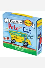 Pete the Cat Phonics Box: Includes 12 Mini-Books Featuring Short and Long Vowel Sounds (My First I Can Read) Paperback