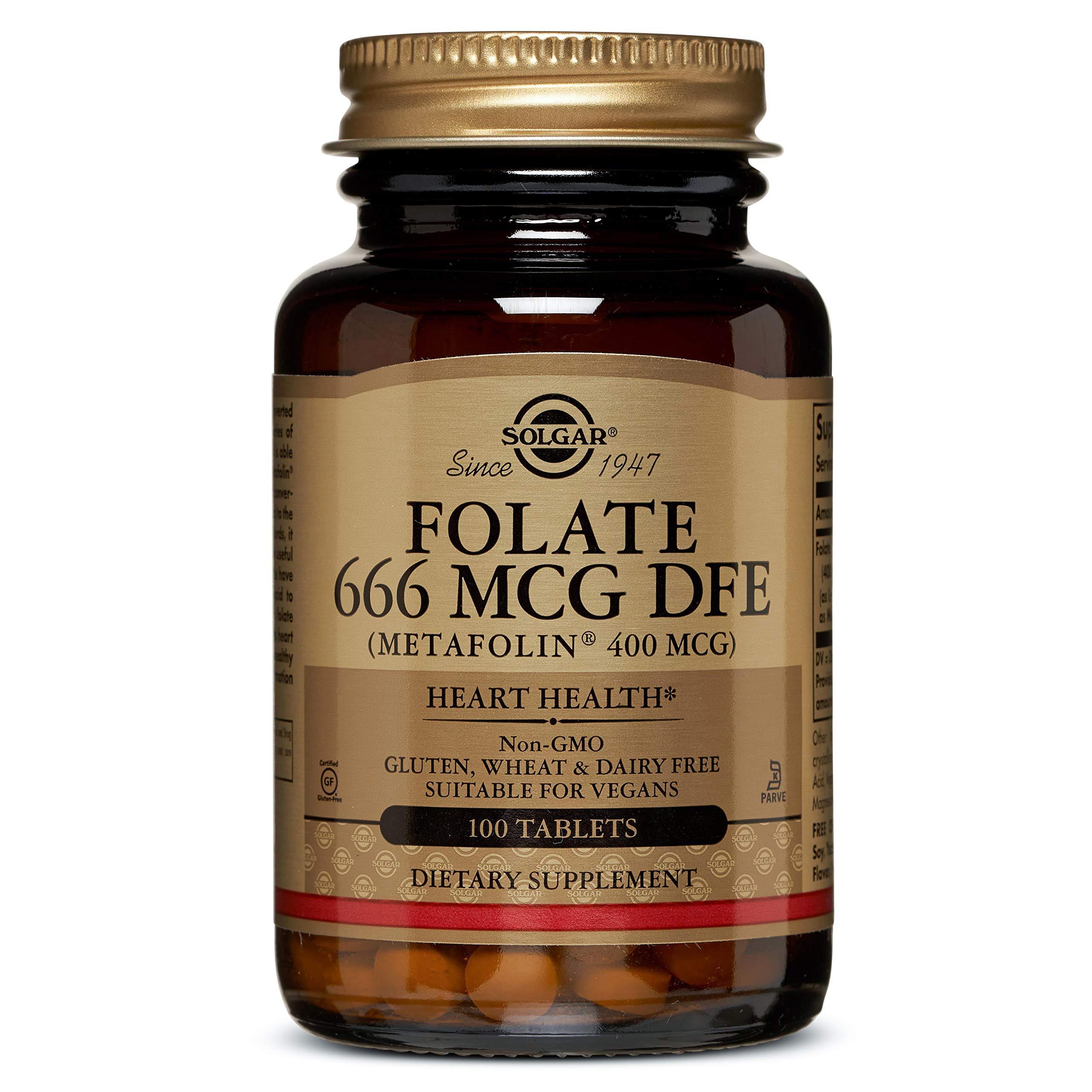 Folic Acid 400mcg 100 Tabs 2-Pack