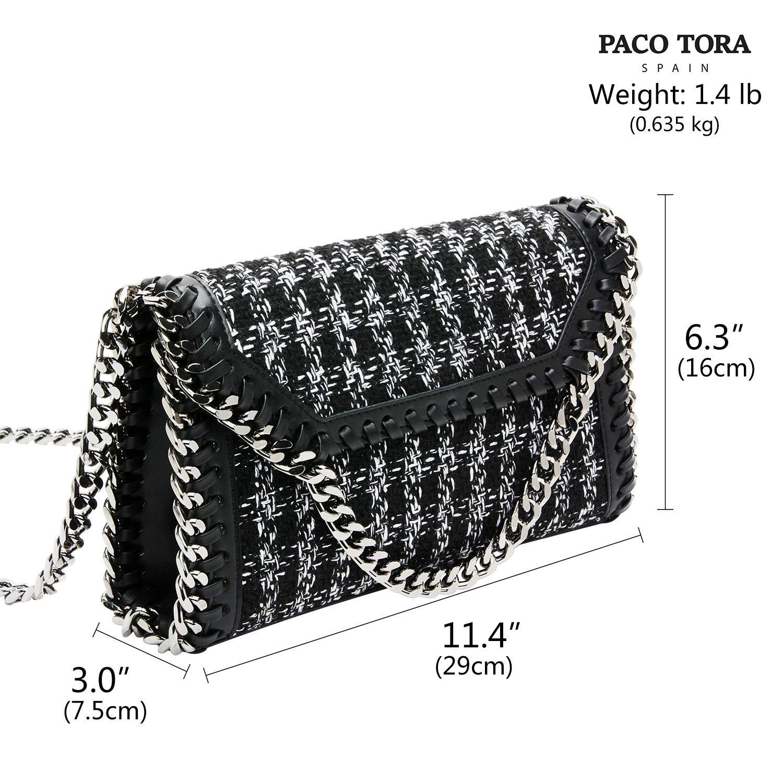 5c7a13c8d51b Amazon.com: PACO TORA Designer Crossbody Bag Fashion Shoulder Bag ...