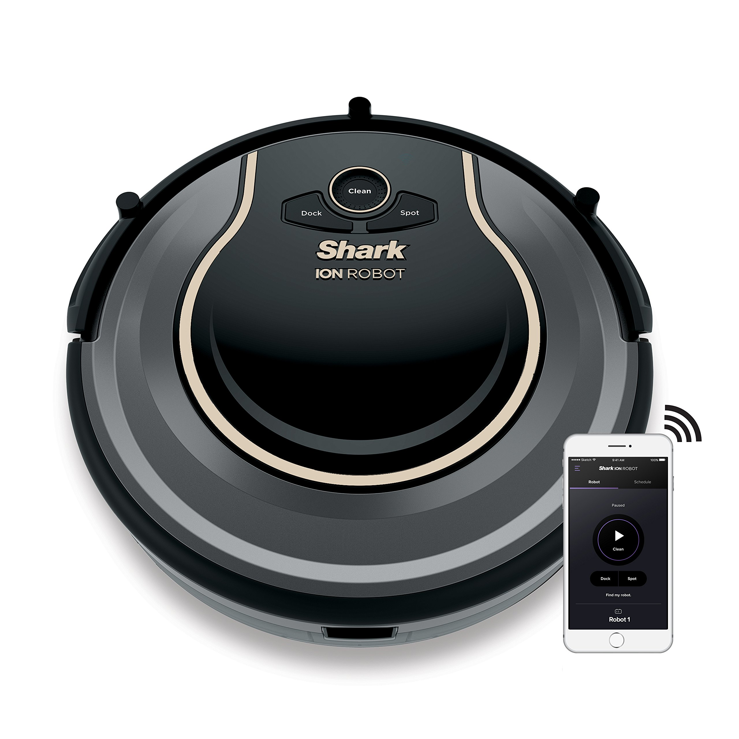 Shark ION ROBOT 750 Vacuum with Wi-Fi Connectivity + Voice Control (RV750) by SharkNinja