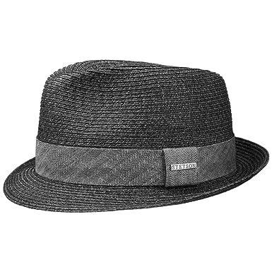 Stetson Reidton Toyo Trilby Straw Hat Men S Summer Amazon Co Uk