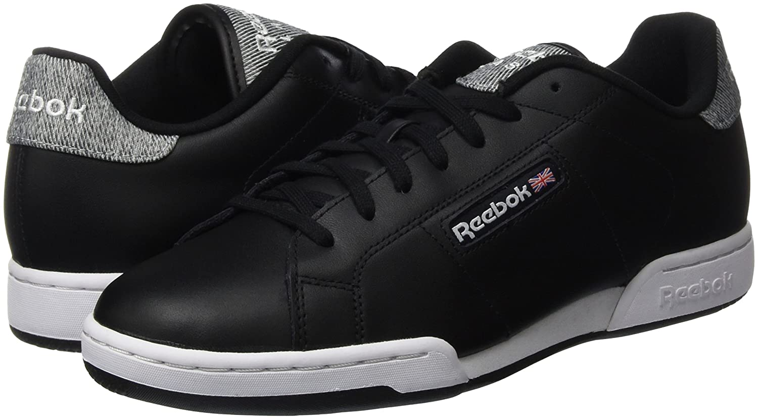 Amazon.com | Reebok Unisex Adults NPC Rad Pop Low-Top Sneakers | Fashion Sneakers