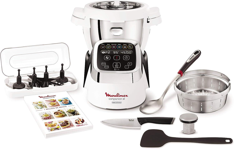 Moulinex HF806E10 - Robot olla multifunción con instrucciones y recetario (Reacondicionado Certificado): Amazon.es: Hogar