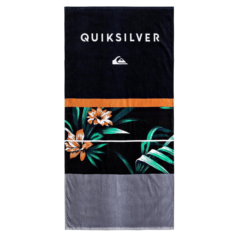 Quiksilver Freshness-Beach Towel For Men, Uomo, EQYAA03602, Black, Taglia unica QISS5|#Quiksilver