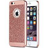 [Not for iPhone 6/6S] iPhone 6S Plus Case,iPhone 6 Plus Case, Ukayfe Luxury Shiny Bling PC Case with Crystal Sparkly rhinestone Glitter PC Protective Diamond Case Cover for Apple iPhone 6/6S Plus 5.5 inch,Rose Gold