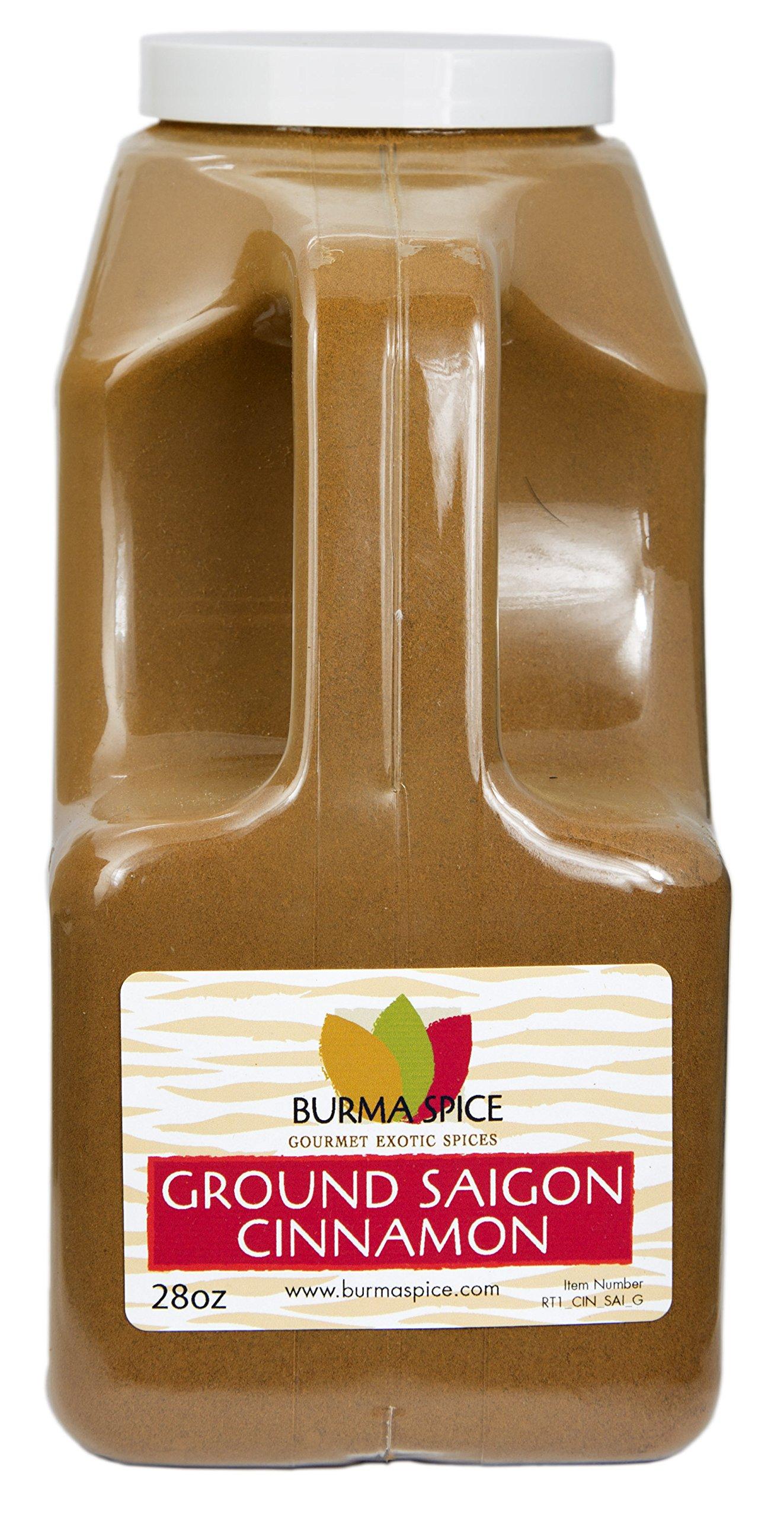 Ground Saigon Cinnamon : Pure Natural Seasoning Spice : Baking : Kosher Certified (28oz.)