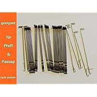 50x Agujas de repuesto para passap & Pfaff