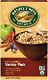 Nature's Path Hot Organic Oatmeal Variety Pack, 8 Count