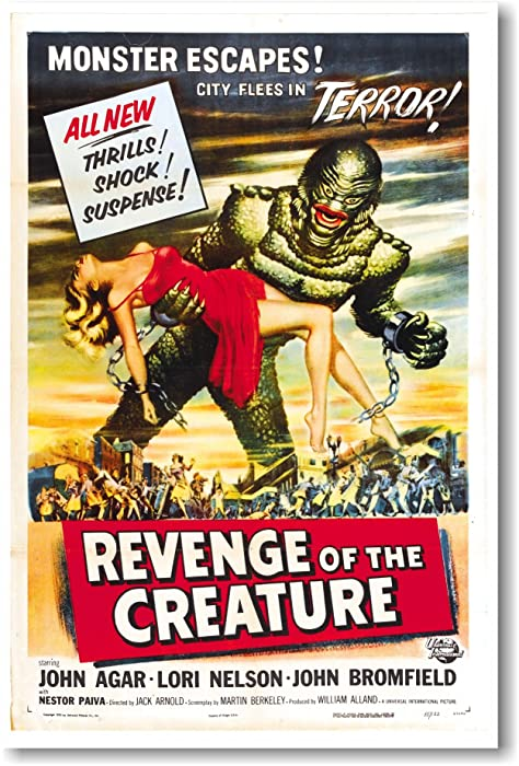 Revenge of the Creature - NEW Vintage Movie Poster