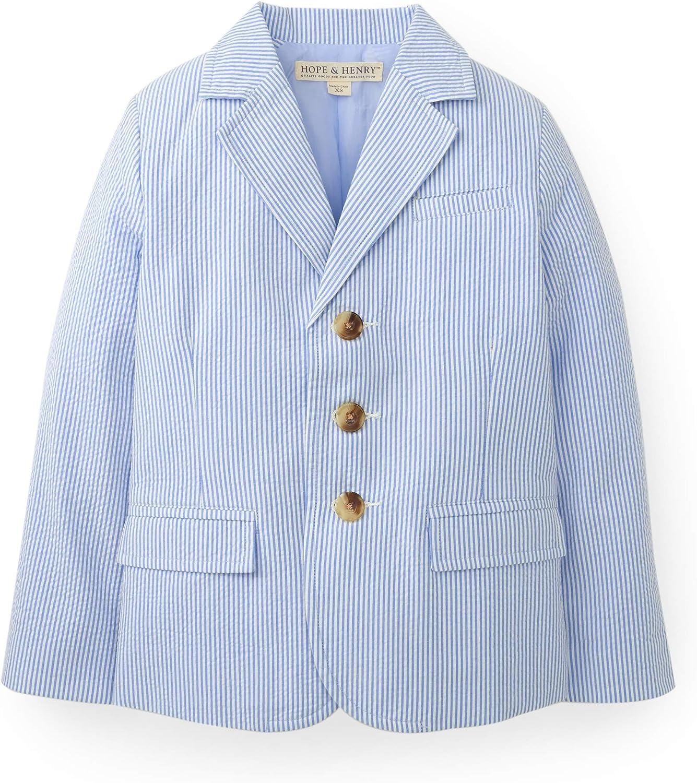 Amazon Com Hope Henry Boys Classic Seersucker Suit Jacket
