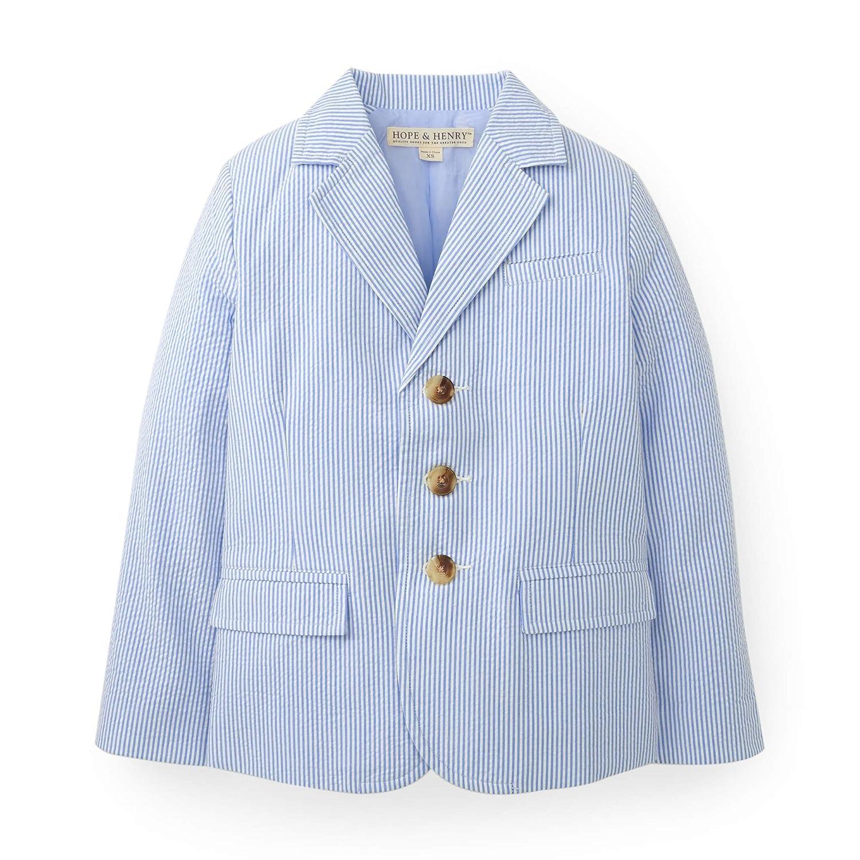 706c804de64 Amazon.com  Hope   Henry Boys Seersucker Suit Jacket  Clothing