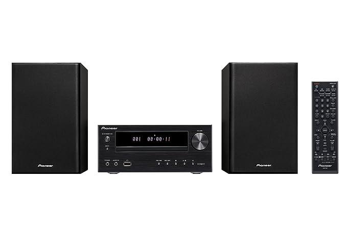 Pioneer X-HM11 - Microcadena de 30W para iPod/iPhone, iPad (estéreo), Negro