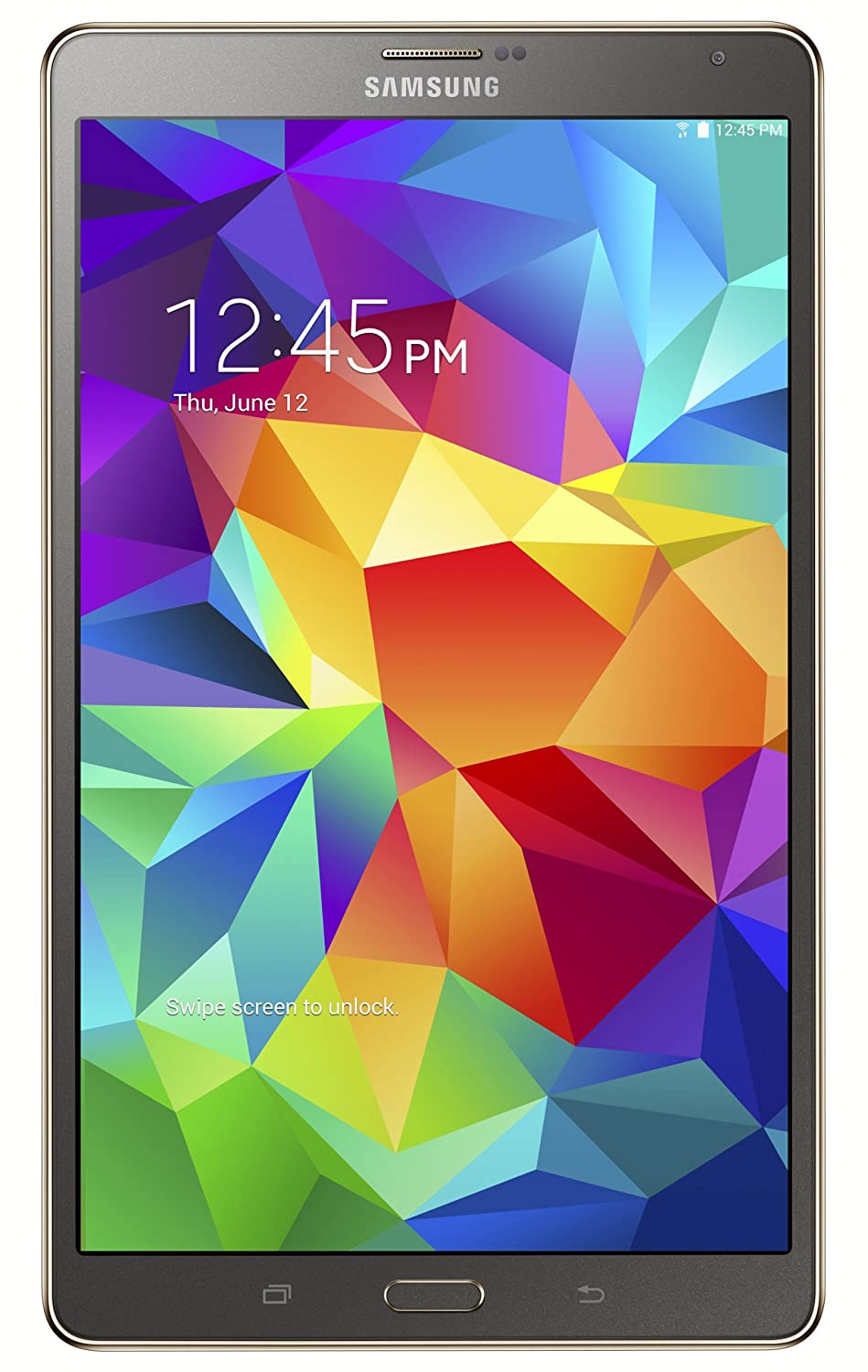 Samsung Galaxy Tab S 8 4-Inch Tablet (16 GB, Titanium Bronze)