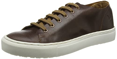 Mens Eday Leather Trainers Lyle & Scott