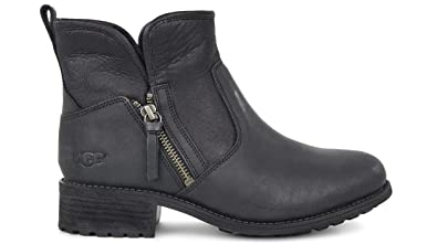 UGG Australia Women's Lavelle Leather Boots (Black ...
