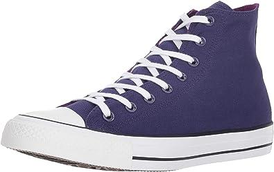 A la meditación Fuera Fuera de  Converse Chuck Taylor All Star 2018 Seasonal High Top, Zapatillas  Deportivas. Mujer, New Orchid Icon Violet, 38 EU: Amazon.es: Zapatos y  complementos