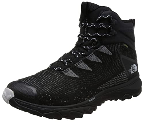 THE NORTH FACE Ultra Fastpack III Mid GTX Woven Shoes Men Grey Black Shoe  Size a757ba16a86