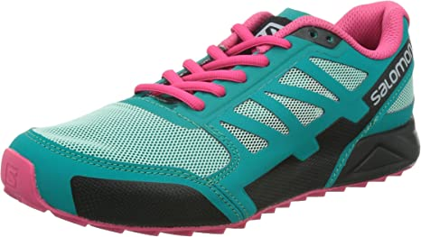SALOMON City Cross Aero W Zapatillas Trail Running Verde Rosa para Mujer: Amazon.es: Deportes y aire libre
