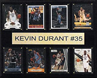 product image for NBA Oklahoma City Thunder Kevin Durant 8-Card Plaque, 12 x 15-Inch