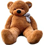 """Joyfay Marque nounours en peluche 200cm 78"""" Ours en peluche géant brun Jouet Doux Poupée Lavable teddy bear cadeau pour adulte enfants"""