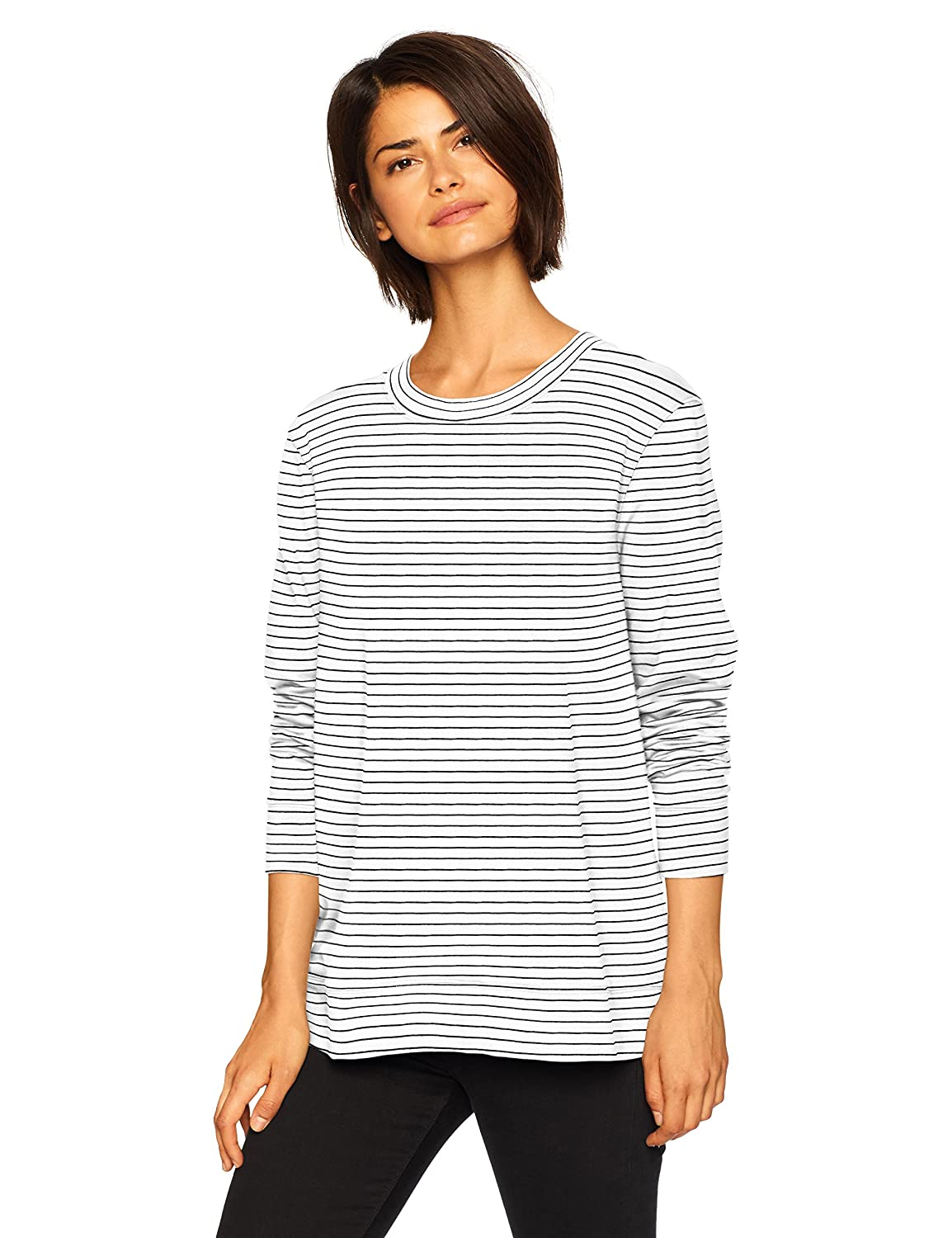 Daily Ritual Women's Terry Cotton and Modal Tie-Back Sweatshirt DRSB1029