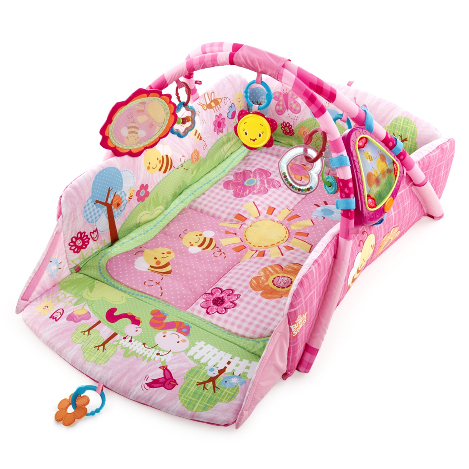 Bright Starts Tapis Déveil 5in1 Garden Fun Babys Play Place Deluxe