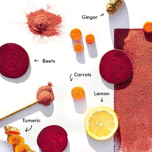 Revive las remolachas de zumo prensado inteligente + raíces ...