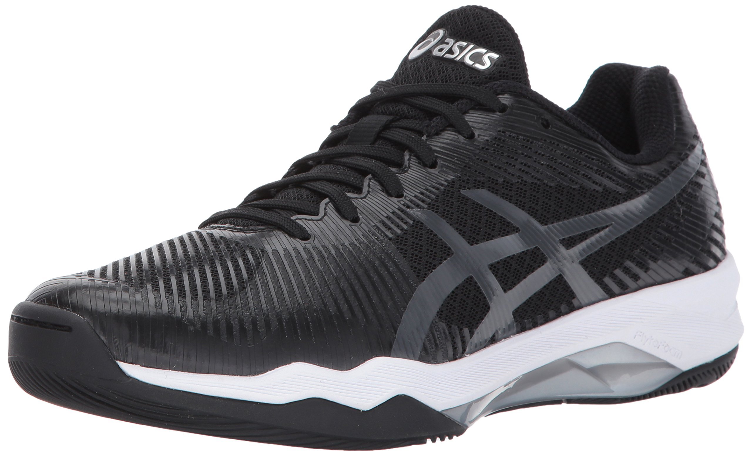 ASICS Women's Volley Elite FF Volleyball-Shoes, Black/Dark Grey/White, 6.5 Medium US