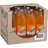 Sunkist Orange Zero Sugar Soft Drink, 12 x 1.25L